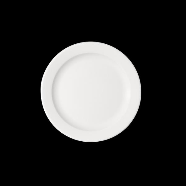 Teller flach mit Fahne, Ø = 28 cm, B1100