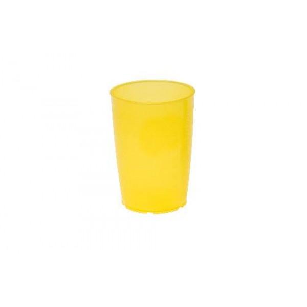 Pflegebecher, Inhalt: 0,25 l, PP, gelb