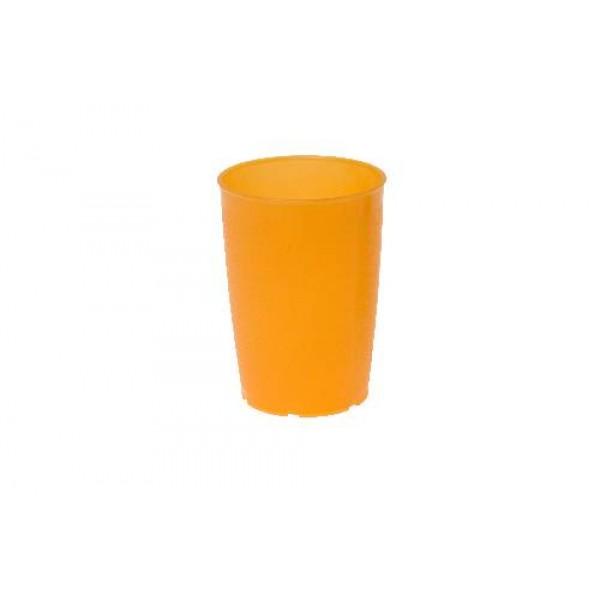 Pflegebecher, Inhalt: 0,25 l, PP, orange