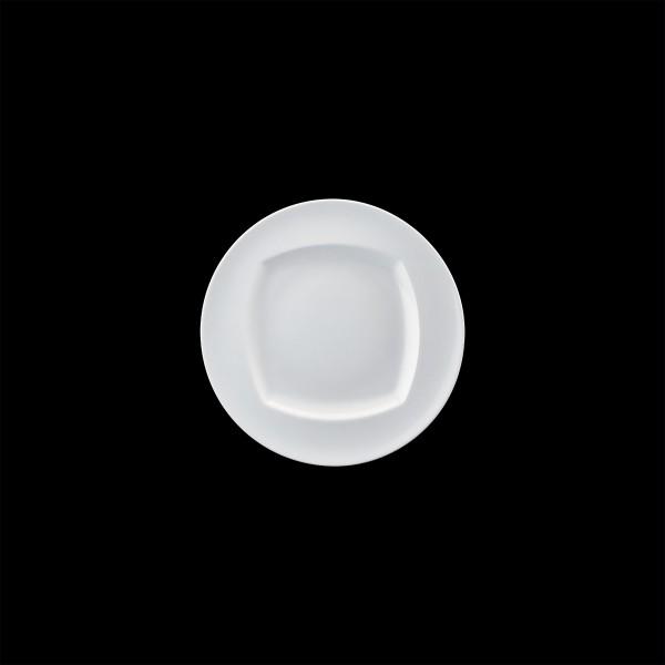 Teller flach mit Fahne, Ø = 20 cm, Event Buffet