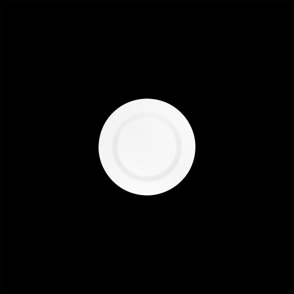 Teller flach mit Fahne, Ø = 16 cm, Connect