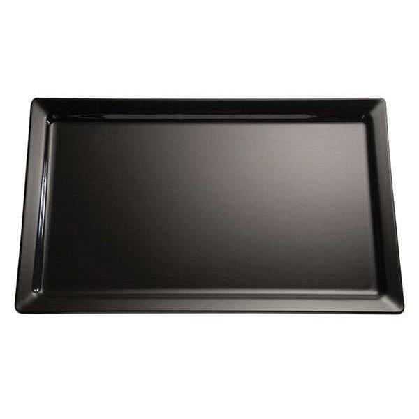 Platte GN ½, Pure, schwarz