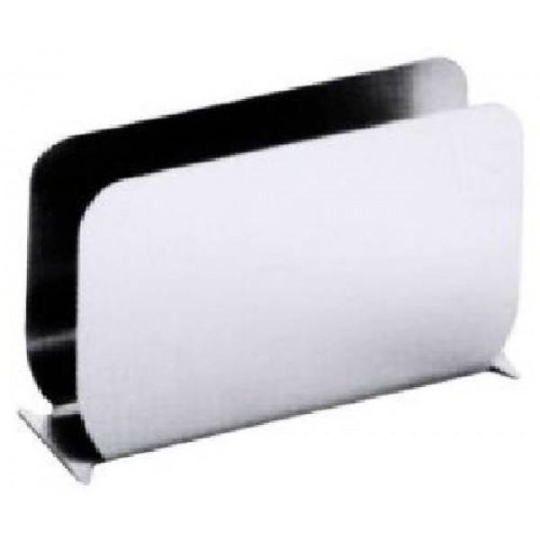 Serviettenhalter, Edelstahl hochglänzend,  110 x 70 mm
