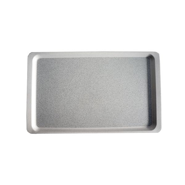 Tablett GL 4002, Länge: 53 cm,  lichtgrau