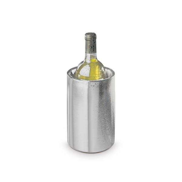 Flaschenkühler, mattiert, doppelwandig