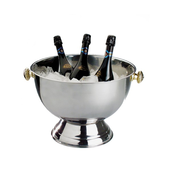 Champagnerkühler, poliert