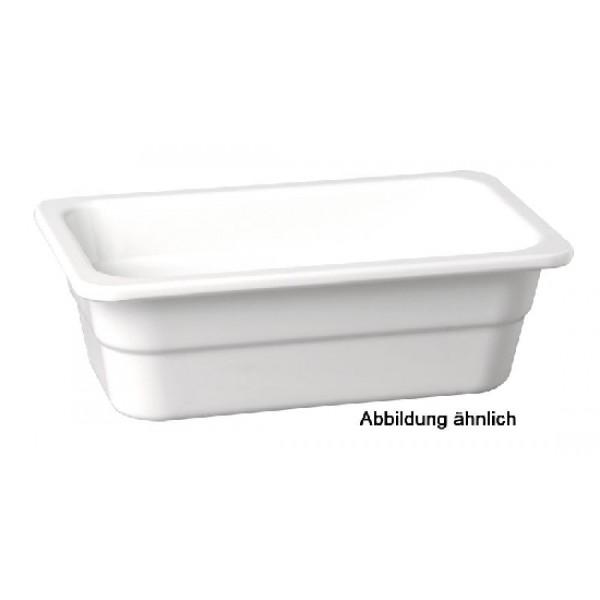 GN-Behälter GN 1/2-100, APS, Melamin, elfenbein