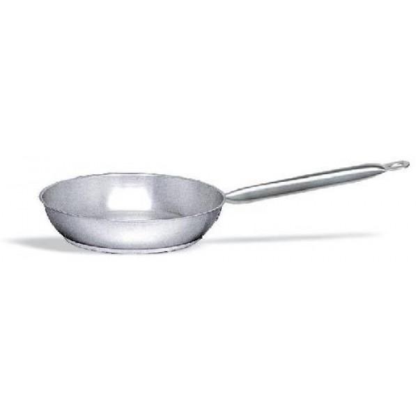 Bratpfanne Ø = 24 cm, Edelstahl