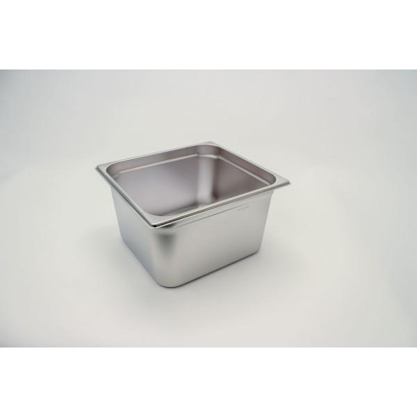 GN-Behälter 2/3-200, Rieber, Edelstahl, ohne Griffe