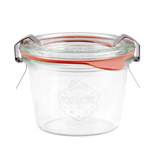 Mini-Sturz-Form, mit Glasdeckel, Inhalt: 80 ml