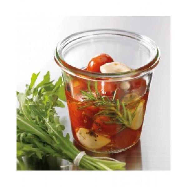 Sturz-Form hoch, mit Glasdeckel, Inhalt: 290 ml
