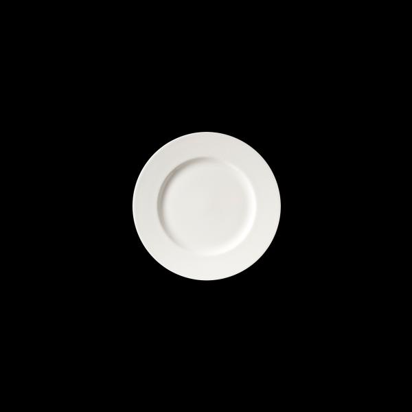 Teller flach, Ø = 26,5 cm, Fine Bone China Classic, weiß