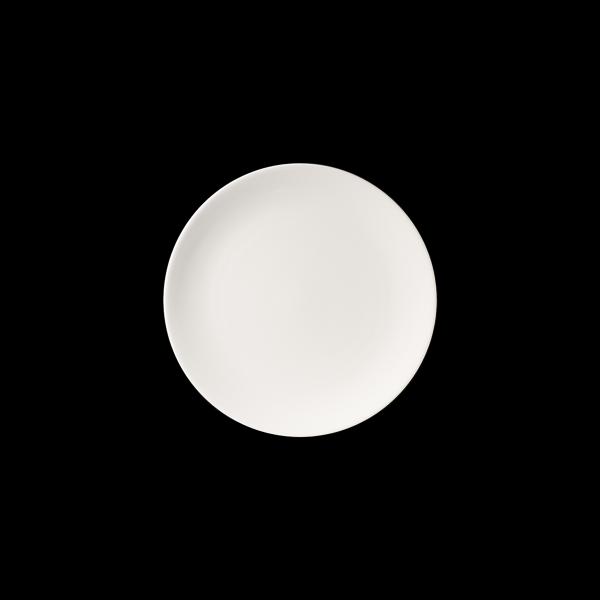 Teller flach, Ø = 28 cm, Fine Bone China Pure, weiß