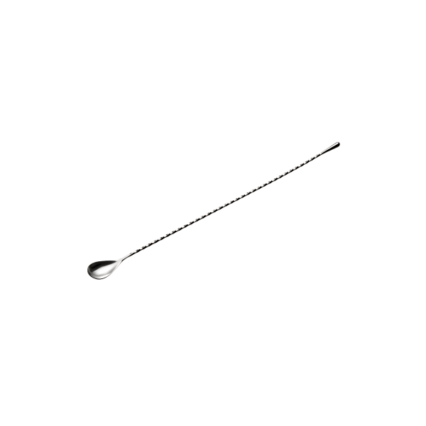 Bar-Löffel mit gedrehtem Stiel