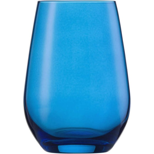 Wasserglas, Vina Spots, Inhalt: 397 ml, blau