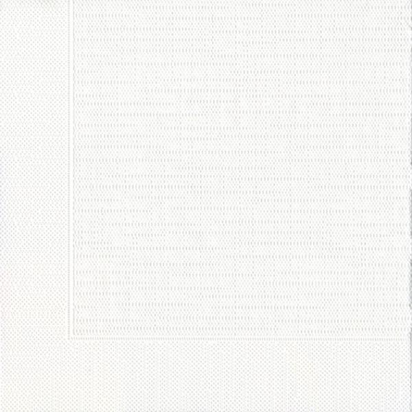 Serviette, Klassik, weiß, 40 x 40 cm