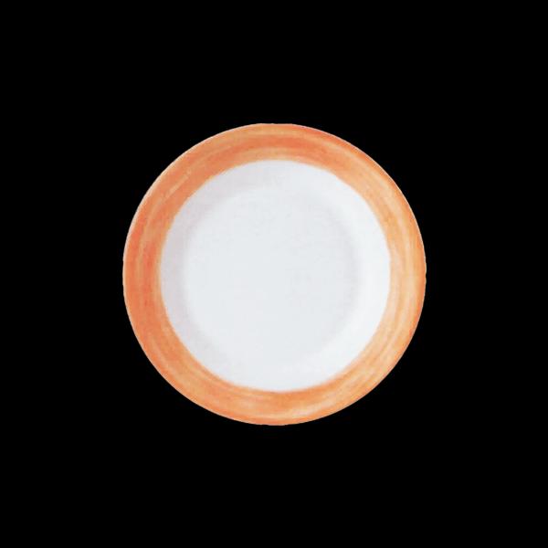 Teller flach, Ø = 19,5 cm, Brush Orange