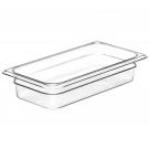 GN-Behälter 1/3-65, Cambro, Polycarbonat, transparent