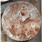 Teller flach coup, Ø = 24 cm, Purity Antique Cinnamon