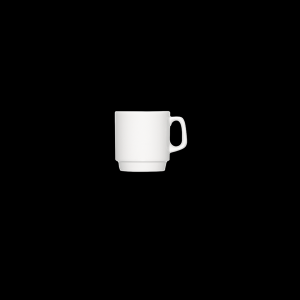 Kaffee-Obertasse stapelbar, Inhalt: 0,22 l, B1100