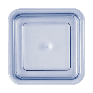 Kunststoffdeckel, quadratisch, hoch, Länge: 12,5 cm