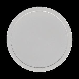 Kunststoffdeckel rund, flach, Ø = 13 cm