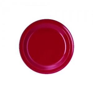 Dessertteller, Ø = 20 cm, Melamin, rot
