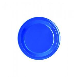 Dessertteller, Ø = 20 cm, Melamin, blau