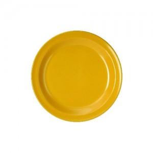 Dessertteller, Ø = 20 cm, Melamin, gelb