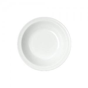 Teller tief, Ø = 21 cm, Melamin, weiß