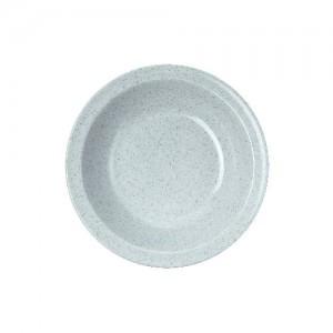 Teller tief, Ø = 21 cm, Melamin, grau