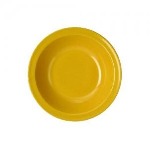 Teller tief, Ø = 21 cm, Melamin,gelb