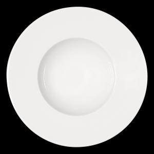 Teller tief mit breiter Fahne, Ø = 25 cm, Maitre