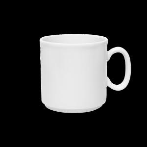 Kaffeebecher stapelbar, Inhalt: 0,30 l, Krankenhausform