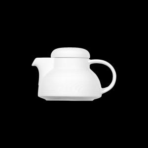 Teekanne mit Deckel, Inhalt: 0,35 l, Carat, weiß