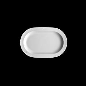 Platte oval halbtief, Länge: 23 cm, Carat