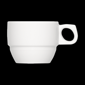 Kaffee-Obere stapelbar, Inhalt: 0,18 l, Dimension