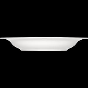Teller tief mit Fahne, Ø = 23 cm, Dimension