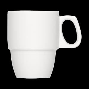 Kaffeebecher stapelbar, Inhalt: 0,29 l, Dimension