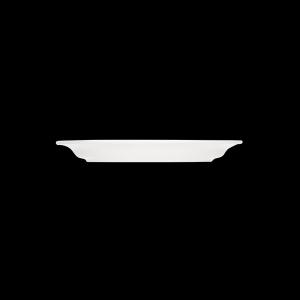 Platte oval mit Fahne, Länge: 35 cm, Dialog