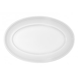 Platte oval steile Fahne, Länge: 36 cm, Come4Table