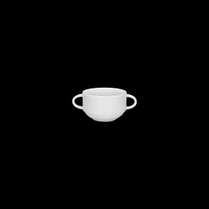 Suppen-Obertasse mit 2 Henkel, Inhalt: 0,28 l, Donna
