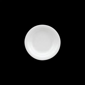 Teller tief mit Fahne, Ø = 21 cm, Avanti