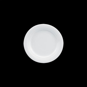 Teller flach mit Fahne, Ø = 23 cm, Avanti