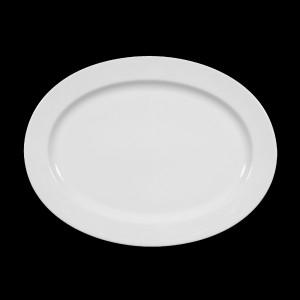 Platte oval, Länge: 31 cm, Meran