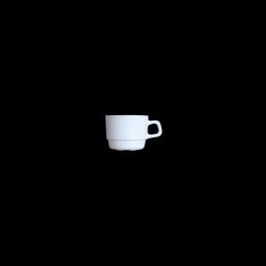 Kaffee-Obere, Inhalt: 0,19 l, Restaurant Uni weiß