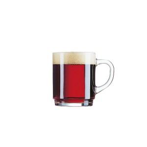 Tee-/Glühweinbecher mit Henkel, Inhalt: 250 ml, /-/ 0,2 l