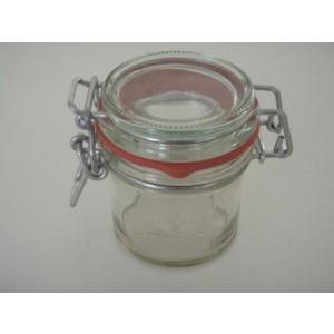 Einmachglas mit Bügelverschluss, Inhalt: 125 ml