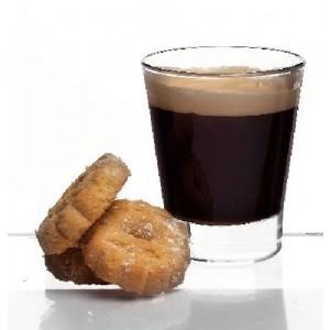 Wasser/Espresso-Glas, Caffeino, Inhalt: 90 ml