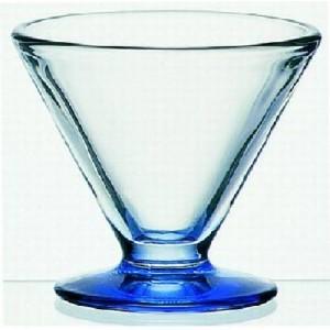 Dessertschale auf blauem Fuß, Vega, Inhalt: 150 ml
